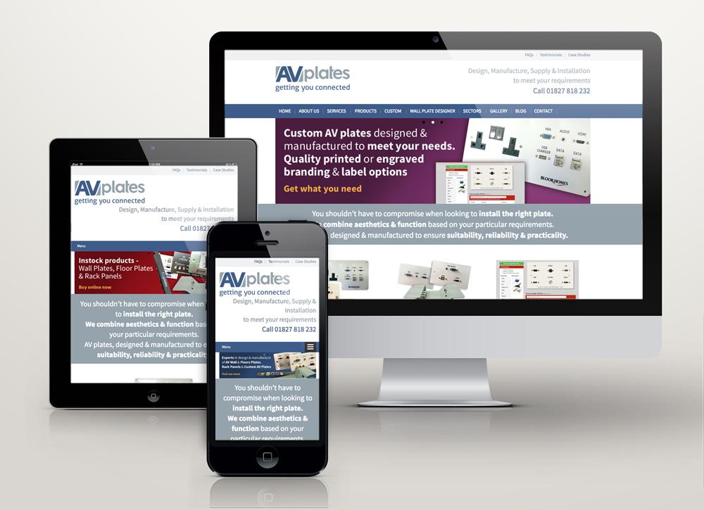 av plates new responsive site